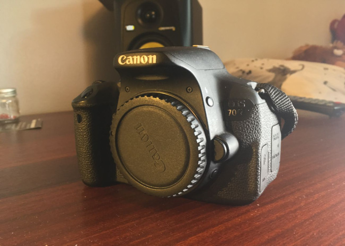 Rent Canon EOS 700D (Body Only) in Southampton