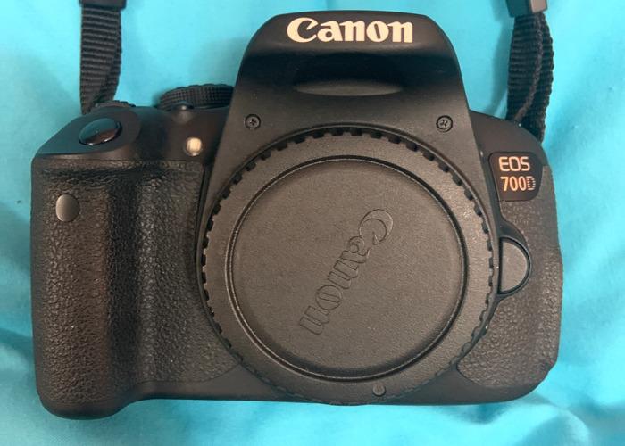Canon EOS 700D (Bundle) - 1