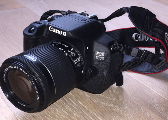 Rent Canon EOS 700D DSLR Camera in London