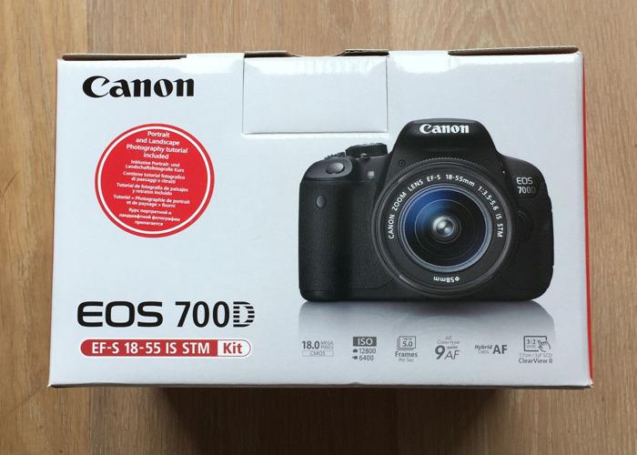 Canon EOS 700D DSLR Camera - 2