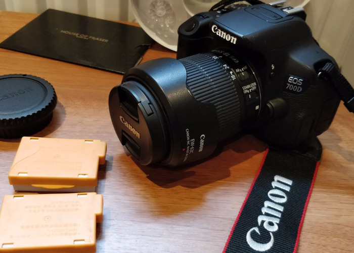 Rent Canon EOS 700D t5i DSLR Camera in London