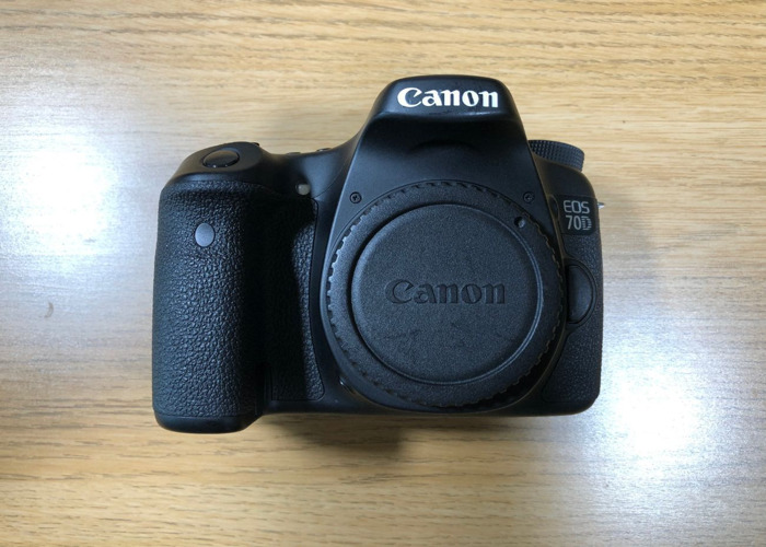 Canon EOS 70D - Body Only - 1
