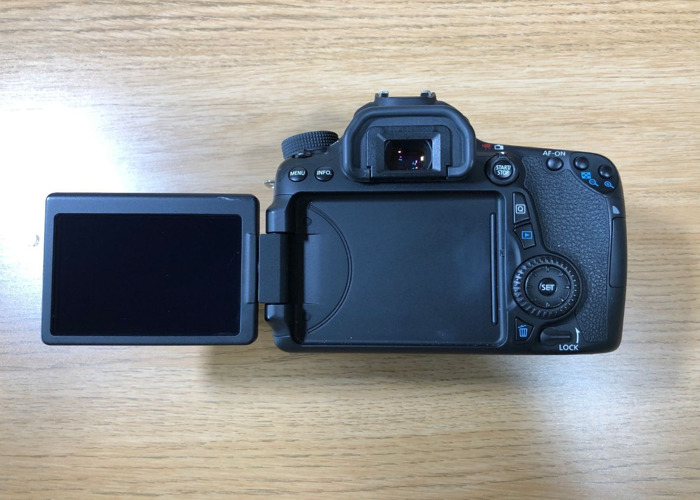 Canon EOS 70D - Body Only - 2