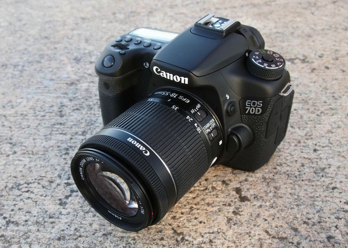 Canon EOS 750D DSLR Camera with 18-55mm Lens - 1