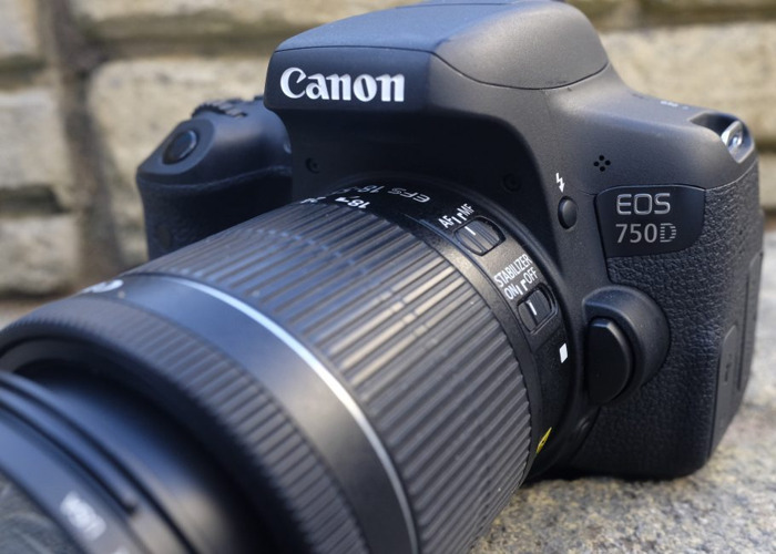 Canon EOS 750D DSLR Camera with 18-55mm Lens - 2