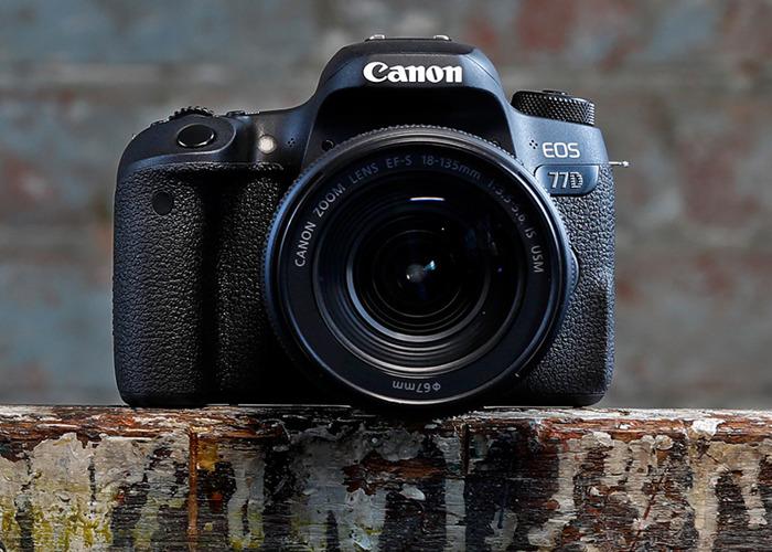 Canon EOS 77D DSLR - 1