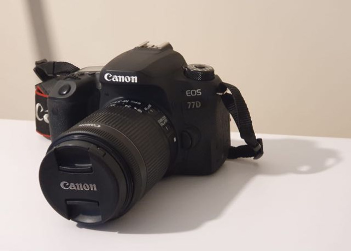 Canon EOS 77D DSLR camera - 1