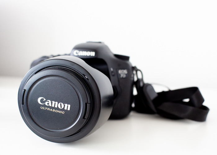 Canon EOS 7D - with optional Canon 24-105mm lens - 2