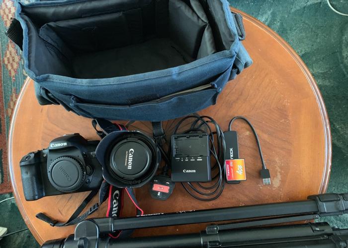 Canon EOS 7D Digital SLR Camera (Inc EF-S 18-135mm f/3.5-5. - 1