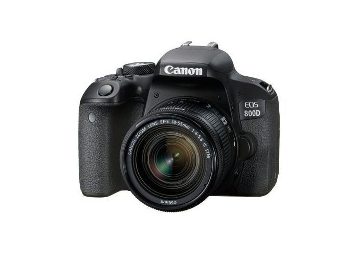 Canon EOS 800D Digital SLR Camera with 18-55mm IS STM Lens - 1