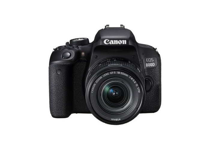 Canon EOS 800D Digital SLR Camera with 18-55mm IS STM Lens - 2