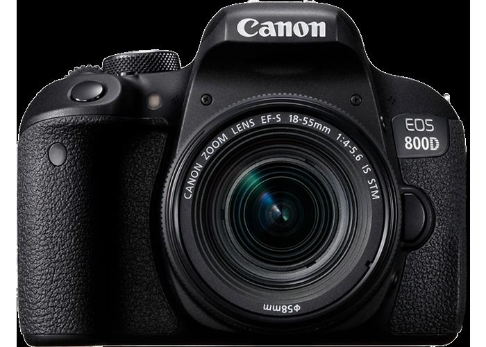 Canon EOS 800D Digital SLR with 18-55mm STM Lens - 1