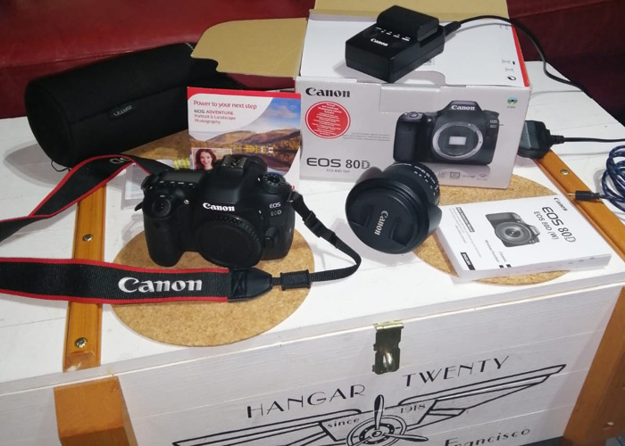 Canon Eos 80d  - 1