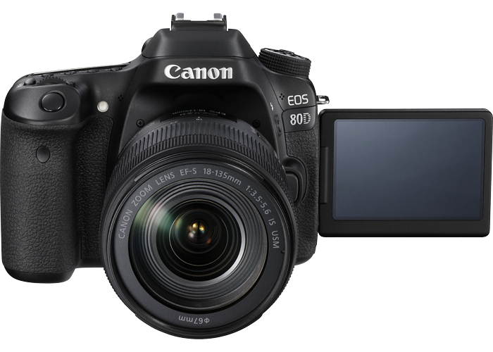 Canon EOS 80D 18-135 IS USM Kit - 2