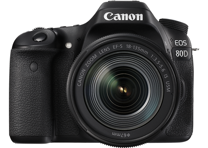 Canon EOS 80D 18-135 IS USM Kit - 1