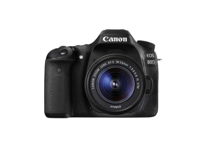 Canon EOS 80D Digital SLR Camera with 18-55mm IS STM Lens - 1