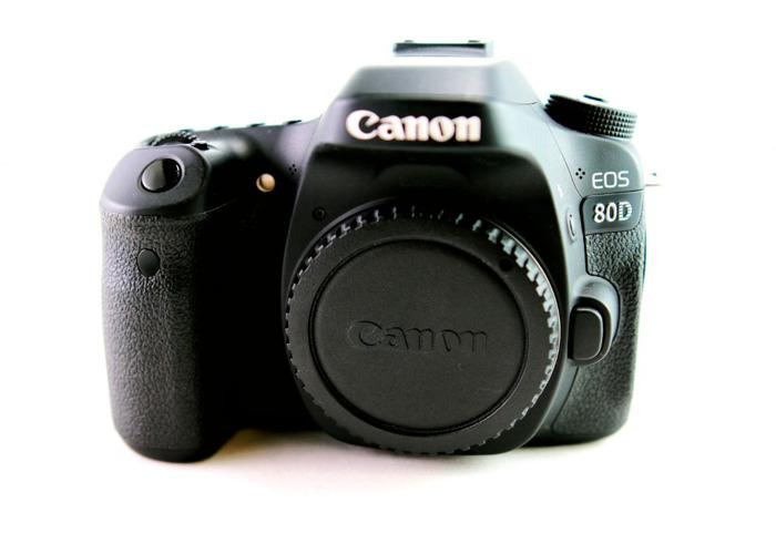 Canon EOS 80D DSLR Camera - 2