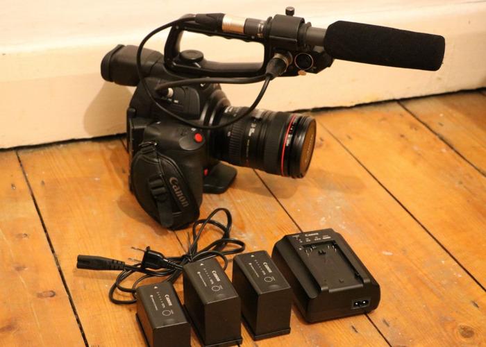 【Canon EOS C100 Mark II Full Kit】  - 1
