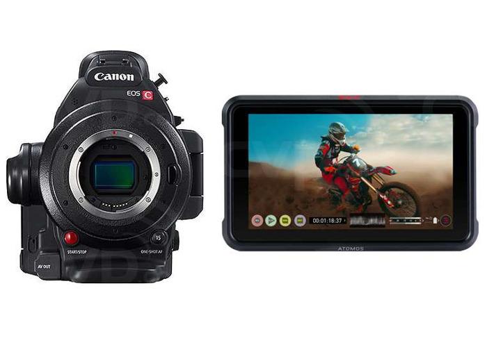 Canon EOS C100 MkII + Ninja V - 1