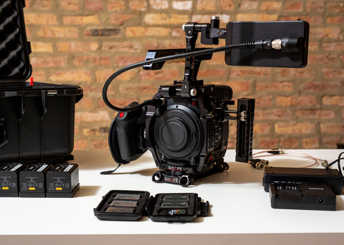 Canon EOS C200 Camera Complete Kit - 1