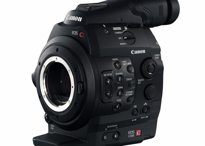 Canon EOS C300 Digital Cinema Camera - 1