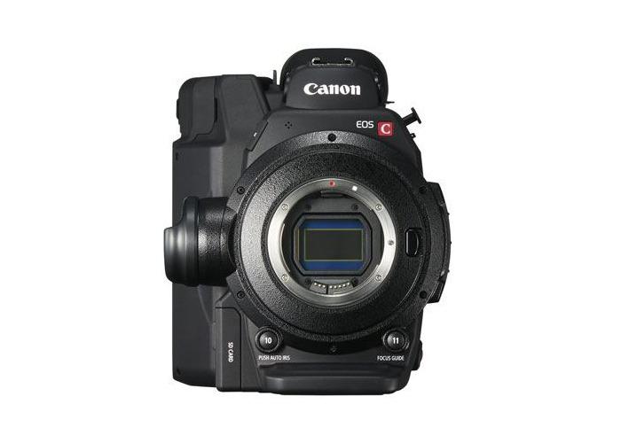 Canon EOS C300 Mark II 4K Camcorder - 1