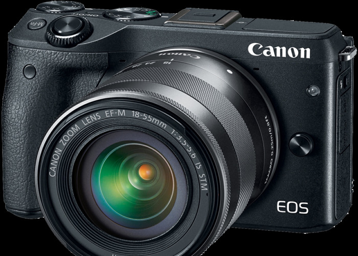 Canon EOS M3 with 18-55mm Lens - 1