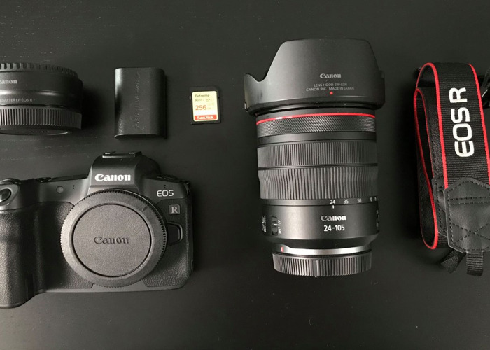 Canon EOS R + 24-105MM + EF Adapter - 1