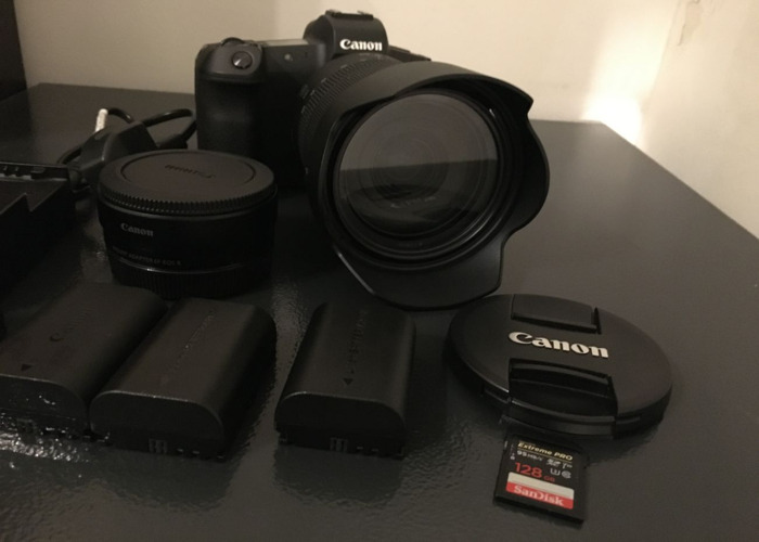 Canon EOS R + Canon RF 24-105 + EF Adapter and variable ND filter - 2