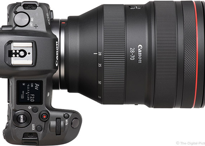 Canon EOS R + Mount adapter + RF 28-70 f2 lens - 1