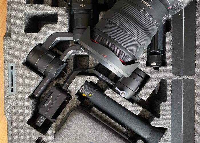 Canon EOS R + RF 15-35 mm f2.8 lens + Ronin S Gimbal Bundle - 1