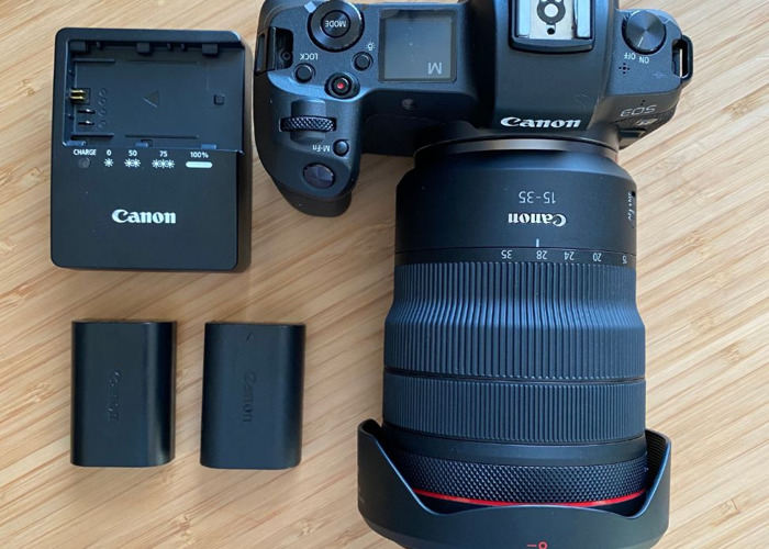 Canon EOS R camera + 15-35 mm RF Lens Bundle  - 1