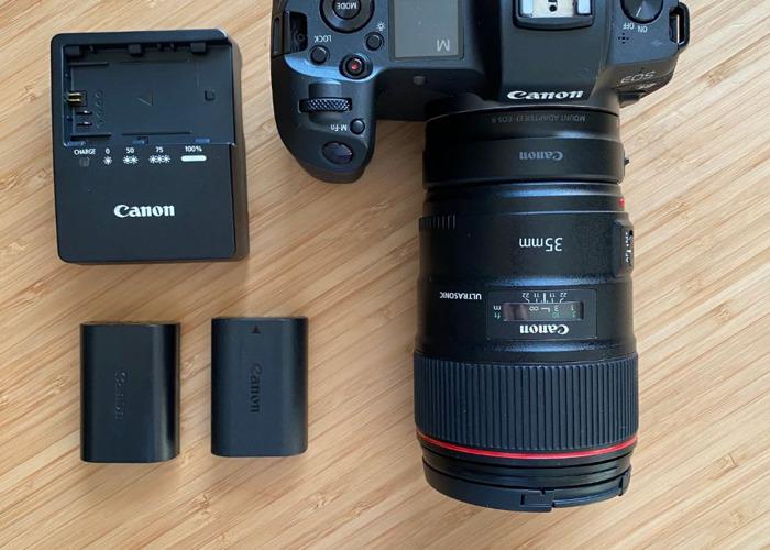 Canon EOS R Camera + Canon 35 mm f1.4 Lens Bundle  - 1