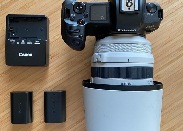 Canon EOS R Camera + Canon RF 70-200 f2.8 Lens Bundle  - 1