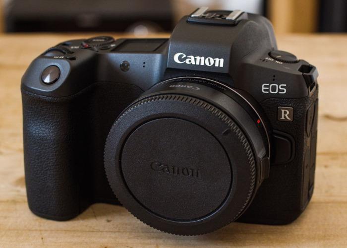 Canon Eos R Mirrorless Camera w/ EF Adaptor - 1