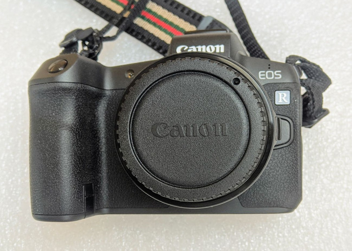 Canon EOS R Mirrorless full frame with EF lens adaptor - 1