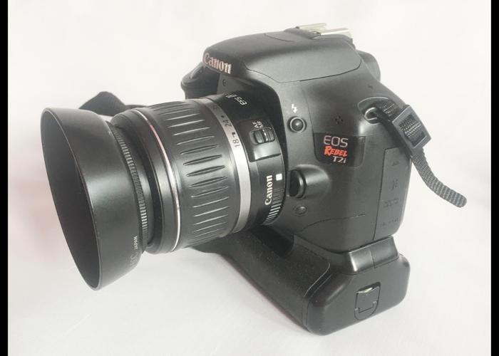 Canon EOS Rebel T2i DSLR Camera Bundle - 2