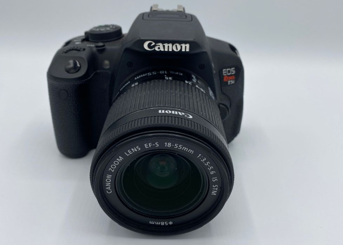Canon EOS Rebel T5i with Kit 18-55mm Lens  - 2