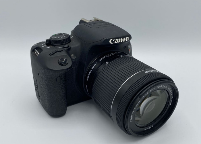Canon EOS Rebel T5i with Kit 18-55mm Lens  - 1