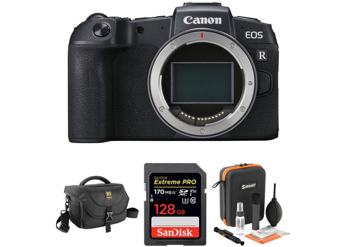 Canon EOS RP Mirrorless Digital Camera Body with Accessories Kit - 1