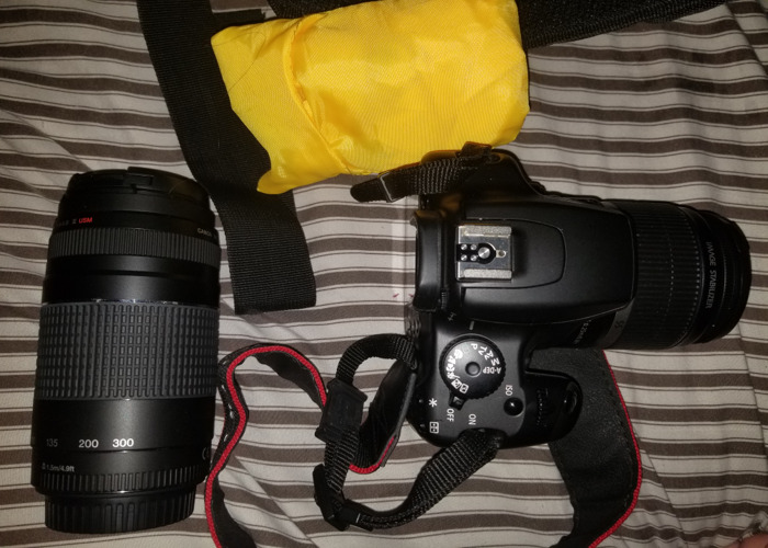 Canon EOS with extra lenses for rent - 1