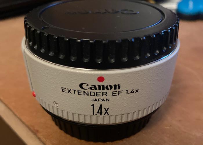 Canon Extender EF 1.4 - 1