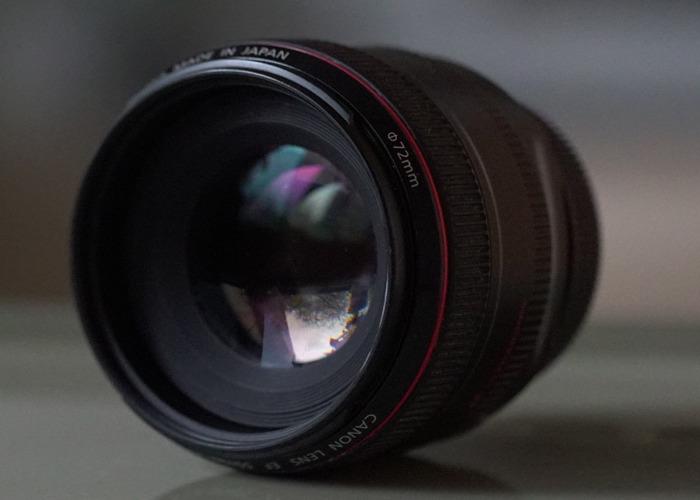 Canon F1.2  50mm L seies Prime Lens - 2