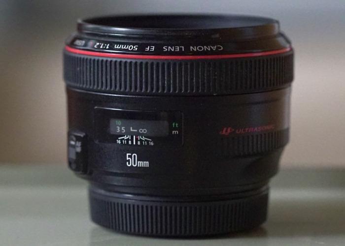 Canon F1.2  50mm L seies Prime Lens - 1