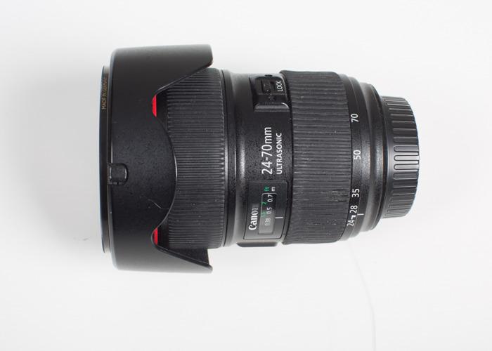 Canon f2.8 24-70 mm EF Lens - 1