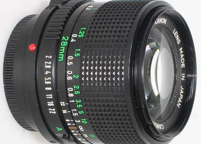 Canon FD 28mm f/2.8 - 1