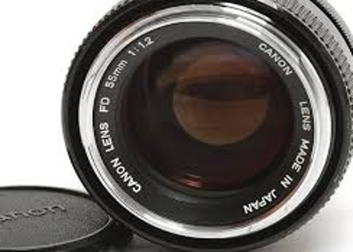 Canon FD 55mm F 1.2 with Canon Eos Adapter. - 2