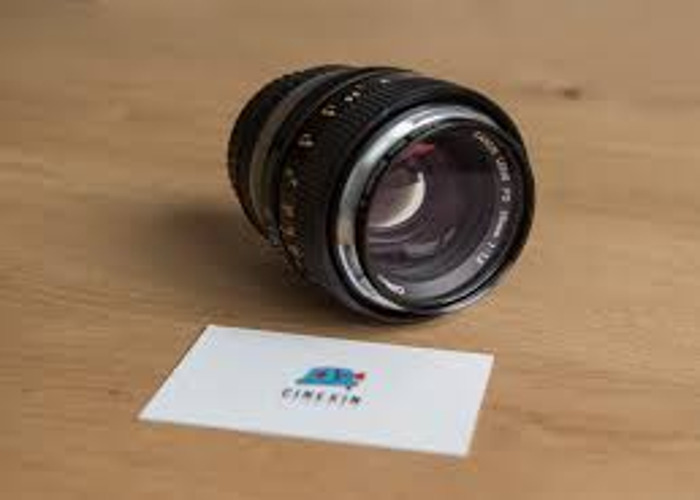 Canon FD 55mm F 1.2 with Canon Eos Adapter. - 1