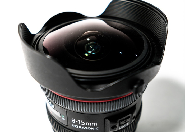 Canon Fisheye Lens 8-15 mm L - 1