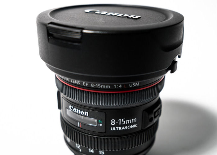 Canon Fisheye Lens 8-15 mm L - 2